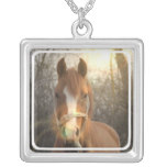 Chestnut Arab Horse Necklace