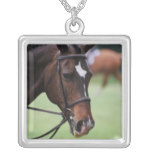 Cute Arabian Horse Sterling Silver Necklace