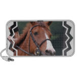 Cute Chestnut Horse Portable Speakers