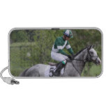Dappled Grey Race Horse Portable Speakers