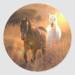 Galloping Wild Horses Stickers