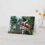 Grand Prix Horse Greeting Cards