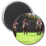 Horse Racing Field Magnet