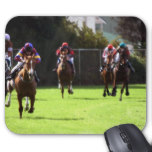 Horse Racing Field Mouse Pad