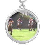 Horse Racing Field Necklace