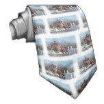 Horses and Show Jumping Men's Necktie