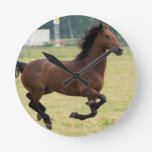 Mustang Galloping Clock