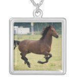 Mustang Galloping Necklace