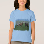 Quarter Horse Herd Girl's T-Shirt