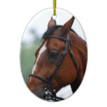 Quarter Horse Profile Ornaments