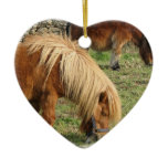 Shaggy Shetland Pony Ornament