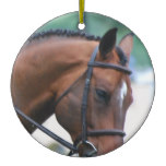 Sweet Morgan Horse Christmas Tree Ornaments