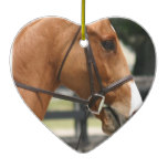 Sweet Quarter Horse Ornament