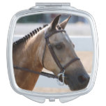 Sweet Roan Pony Makeup Mirror