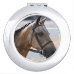 Sweet Roan Pony Mirror For Makeup