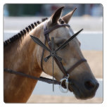 Sweet Roan Pony Square Wall Clock