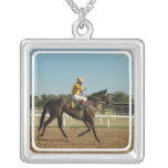 Thoroughbred Race Horse Necklace